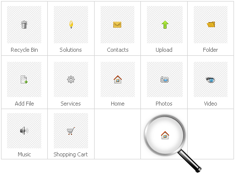 Icon Set Template 30150 Screenshots