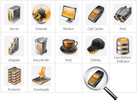 Icon Set Template 30151 Screenshots