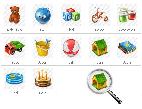 Icon Set Template 30237 Screenshots