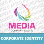 Media Corporate Identity Template 30260