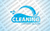 Cleaning Logo Template vlogo