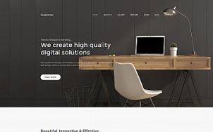 Design Studio Website - Graphonex - tablet image