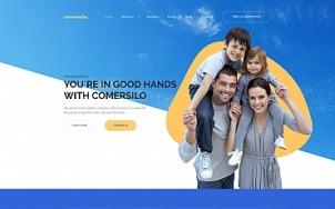 Insurance Company Website Design - Comersilo - tablet image