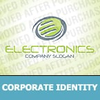 Electronics Corporate Identity Template 30335