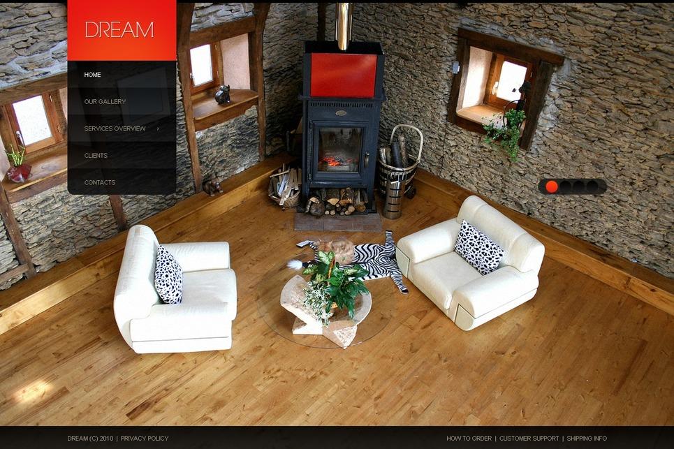 Template joomla per un sito di design di interni for Siti design interni