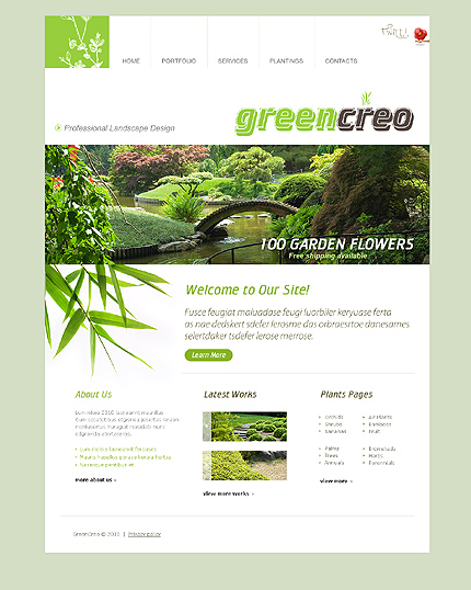 Pagini web amenajari gradini