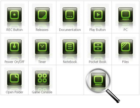 Icon Set Template 30375 Screenshots