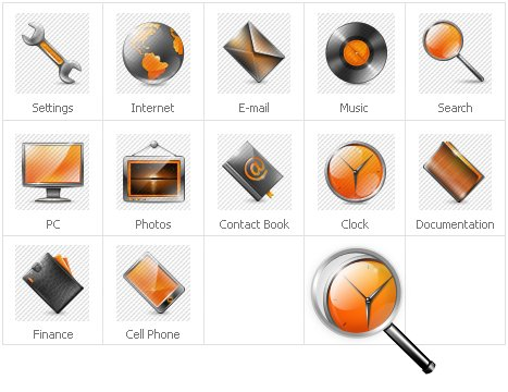 Icon Set Template 30377 Screenshots