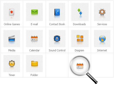 Icon Set Template 30495 Screenshots