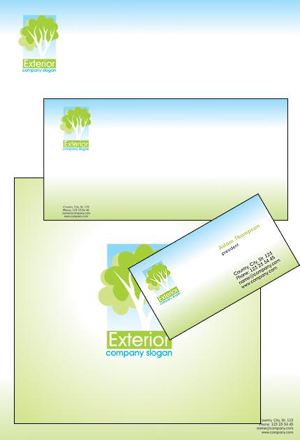 Template di identit aziendale 30447 per un sito di for Design sito