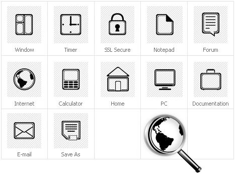 Icon Set Template 30603 Screenshots