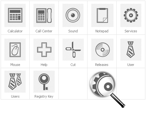 Icon Set Template 30604 Screenshots