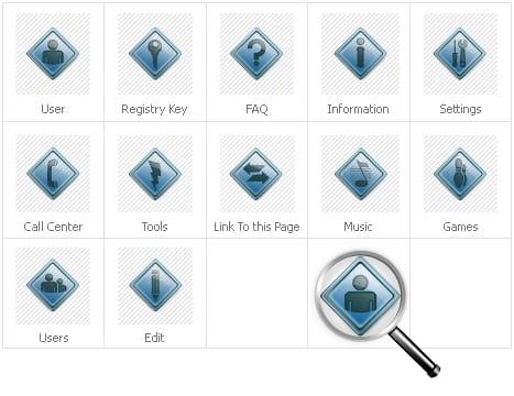 Icon Set Template 30607 Screenshots
