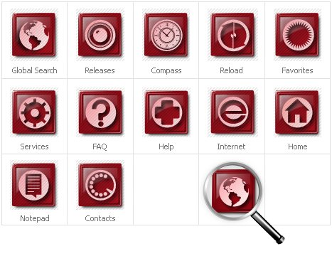 Icon Set Template 30638 Screenshots