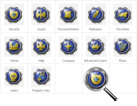 Icon Set Template 30639 Screenshots