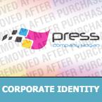 Media Corporate Identity Template 30690