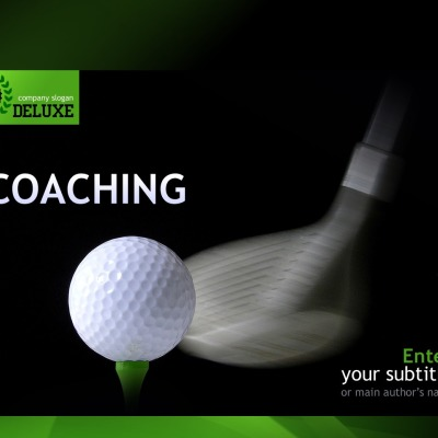 Golf Powerpoint Template 32097