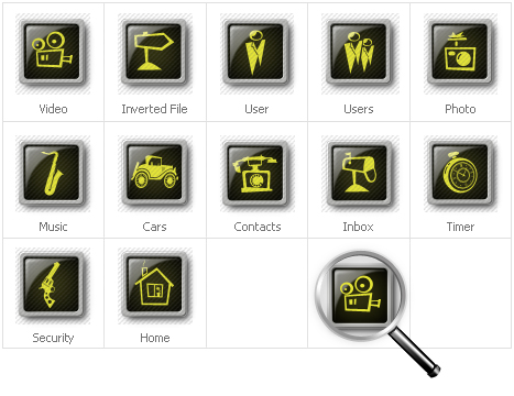 Iconset template over Neutral s №30640 - screenshot