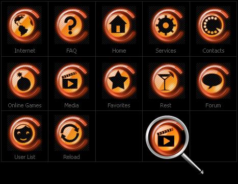 Набор иконок №30683 на тему neutral templates - скриншот