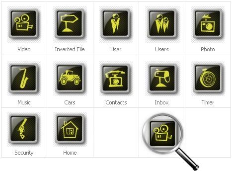 Neutral Templates Ikon csomag sablon 30640 - képernyőkép