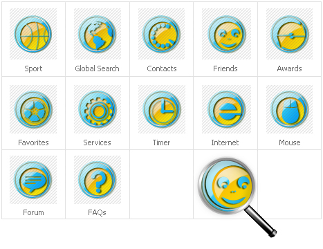 Icon Set Template 30715 Screenshots