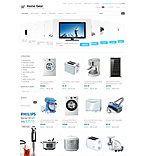 Electronics ZenCart  Template 30721