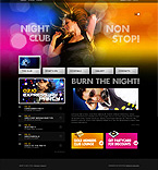 Night Club Turnkey Websites 2.0 Template 30770