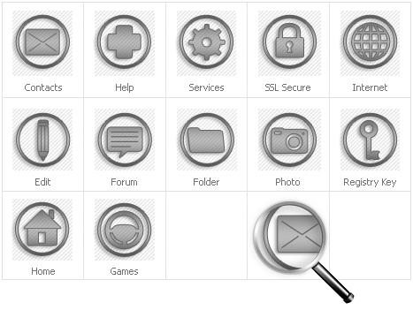 Icon Set Template 30781 Screenshots