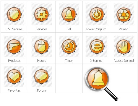 Icon Set Template 30782 Screenshots
