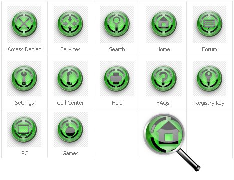 Icon Set Template 30783 Screenshots