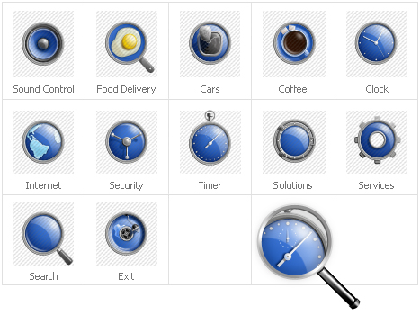 Icon Set Template 30784 Screenshots