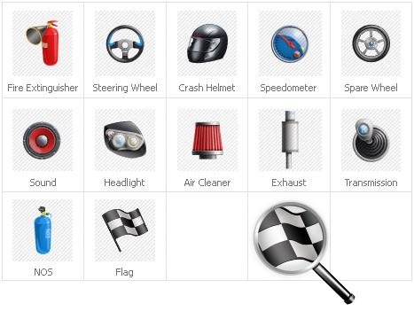 Icon Set Template 30785 Screenshots