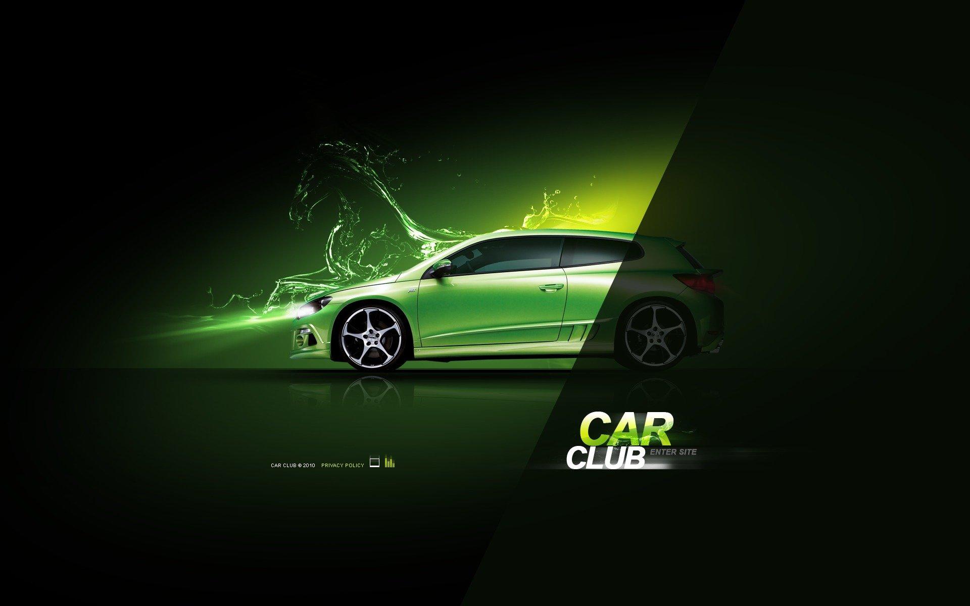 Car Club Flash Template 30867