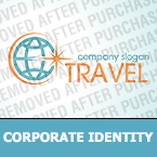 Travel Corporate Identity Template 30902
