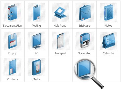 Icon Set Template 30925 Screenshots