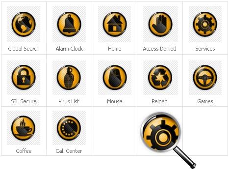 Icon Set Template 30926 Screenshots
