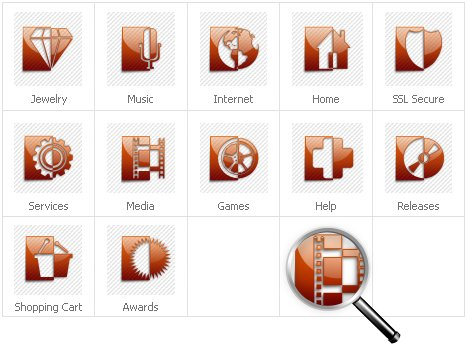 Icon Set Template 30927 Screenshots