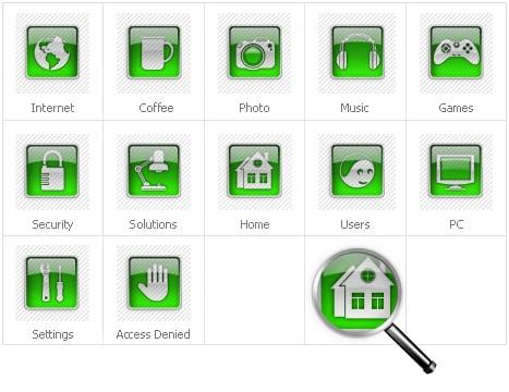 Icon Set Template 30928 Screenshots