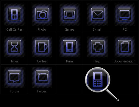 Icon Set Template 30929 Screenshots