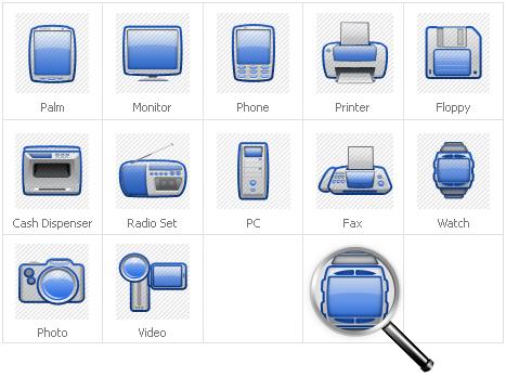 Icon Set Template 30930 Screenshots