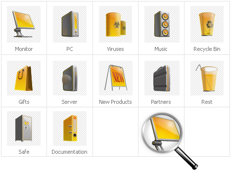 Icon Set Template 30931 Screenshots