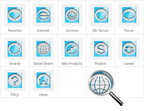 Icon Set Template 30932 Screenshots