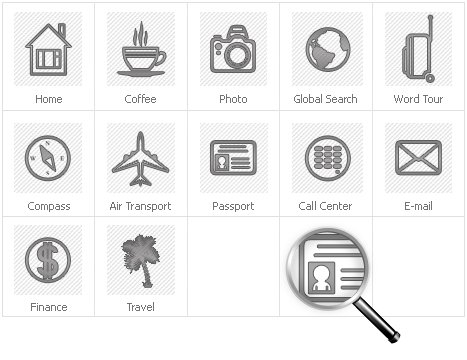 Icon Set Template 30933 Screenshots