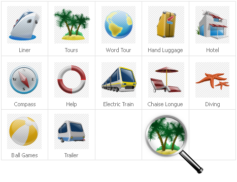 Icon Set Template 30967 Screenshots