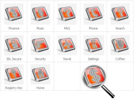 Icon Set Template 30973 Screenshots