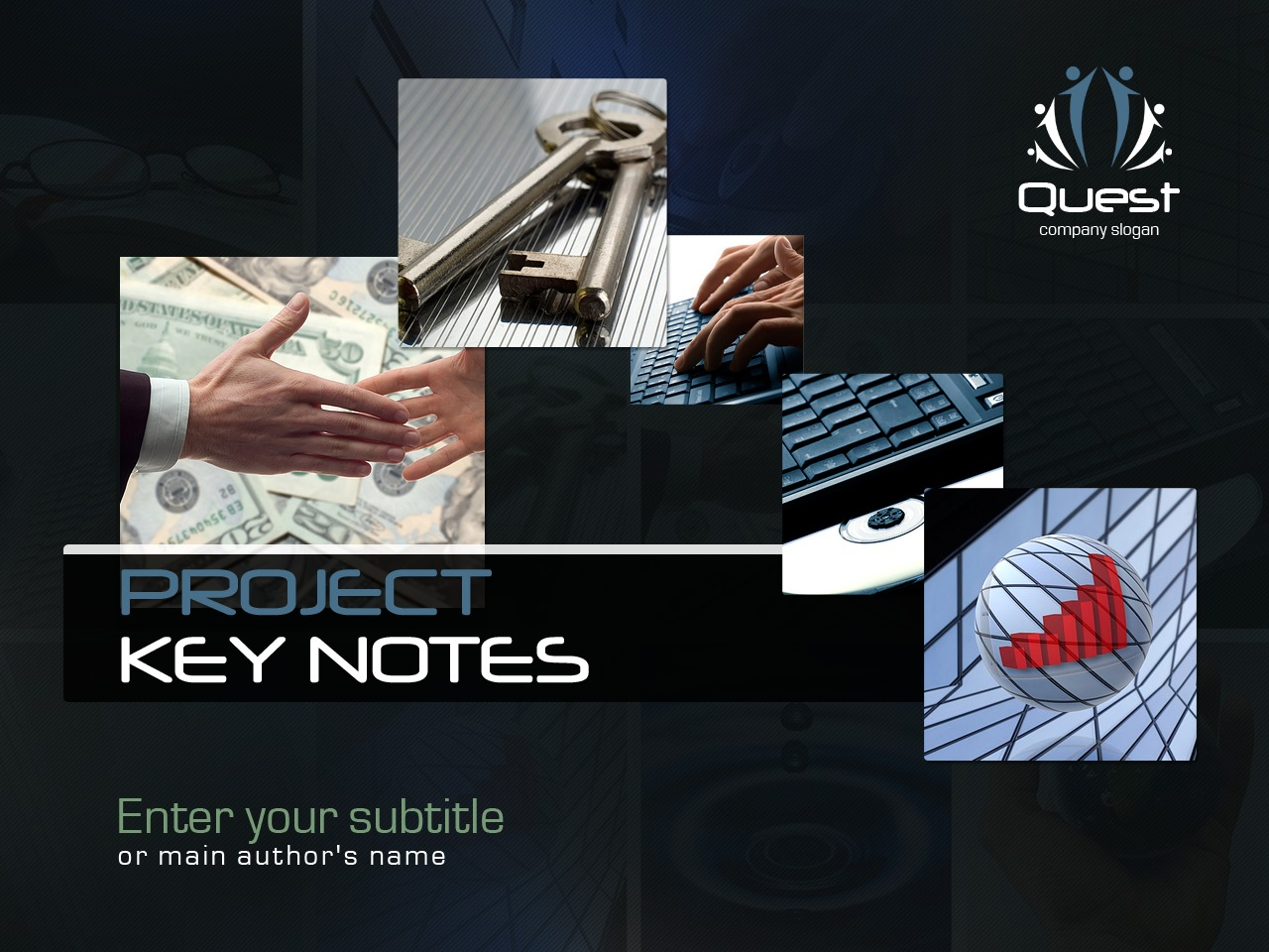 Graphics Corporate Identity Template - screenshot