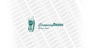Mobile Store Logo Template vlogo