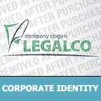 Law Corporate Identity Template 31001