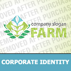 Agriculture Corporate Identity Template 31002