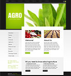 Agriculture Turnkey Websites 2.0 Template 31051